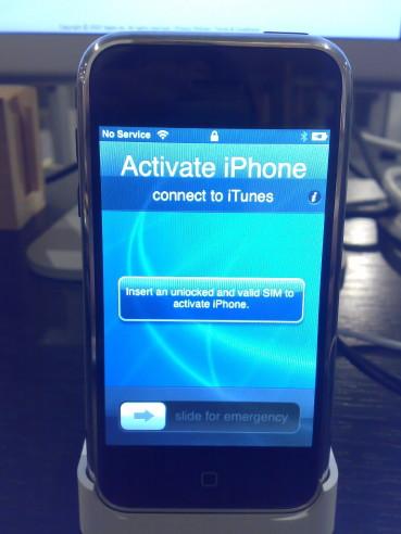 UnActivated iPhone